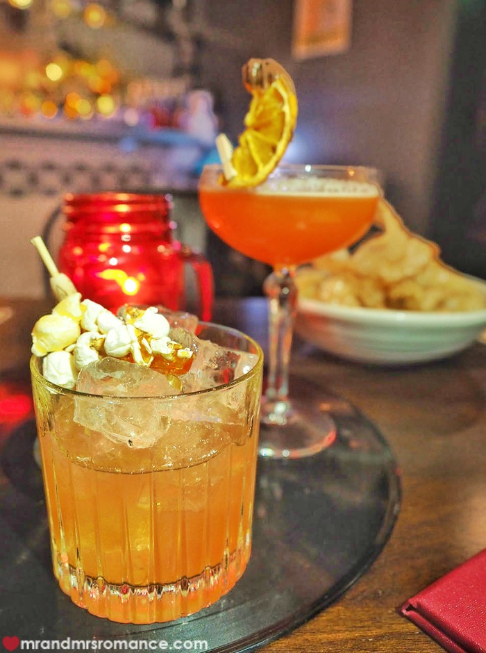 Mr & Mrs Romance - romantic bars - Easy Eight cocktails