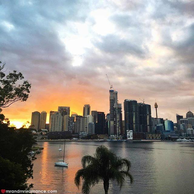 Mr & Mrs Romance - Insta Diary - 2 Sydney sunrise