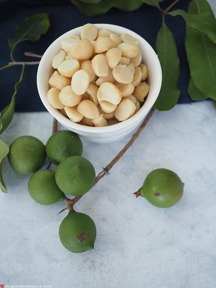 Mr & Mrs Romance - Macadamia snack recipe - raw