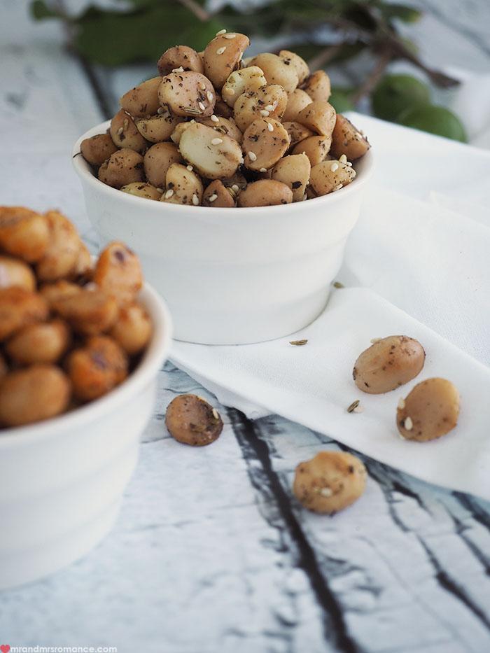 Mr & Mrs Romance - Macadamia snack recipe - macadamias