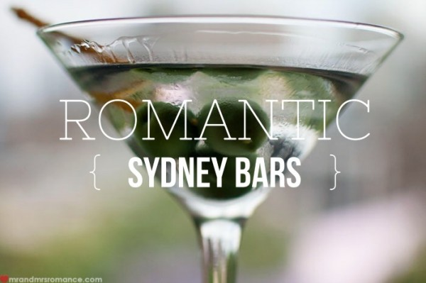 Mr & Mrs Romance - romantic bars