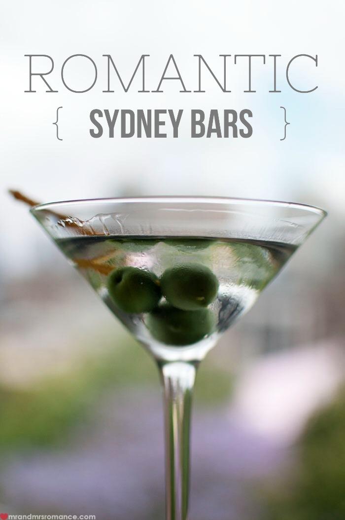 Mr & Mrs Romance - romantic bars