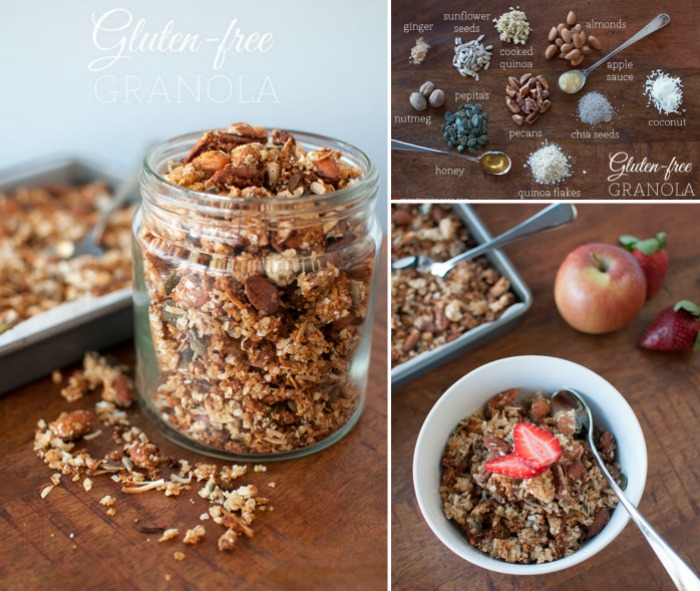 Make-ahead breakfasts - Mr & Mrs Romance - gluten-free granola