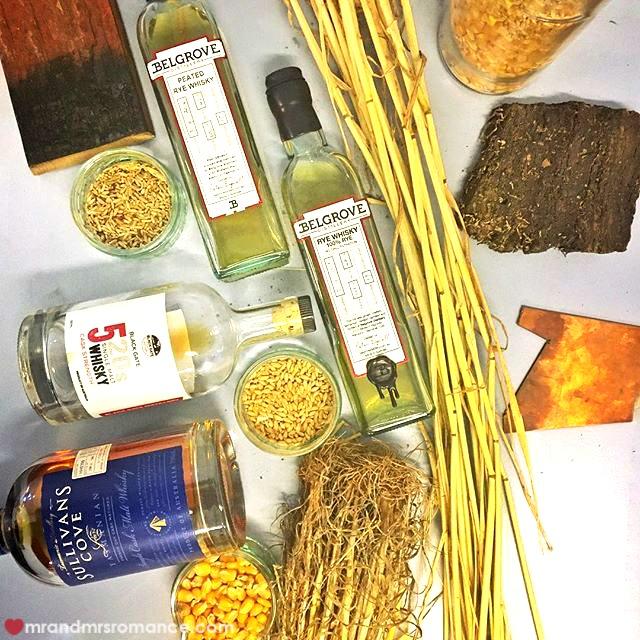 Mr & Mrs Romance - Insta Diary - 2 whisky masterclass