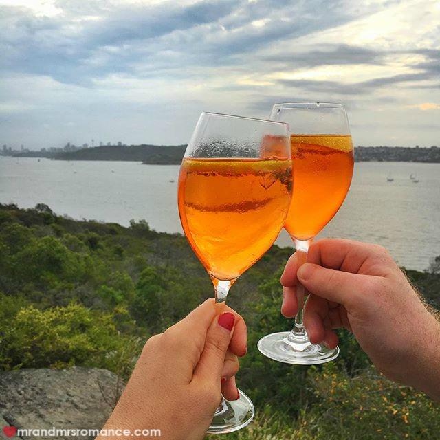Mr & Mrs Romance - Insta Diary - 3 Aperol spritz