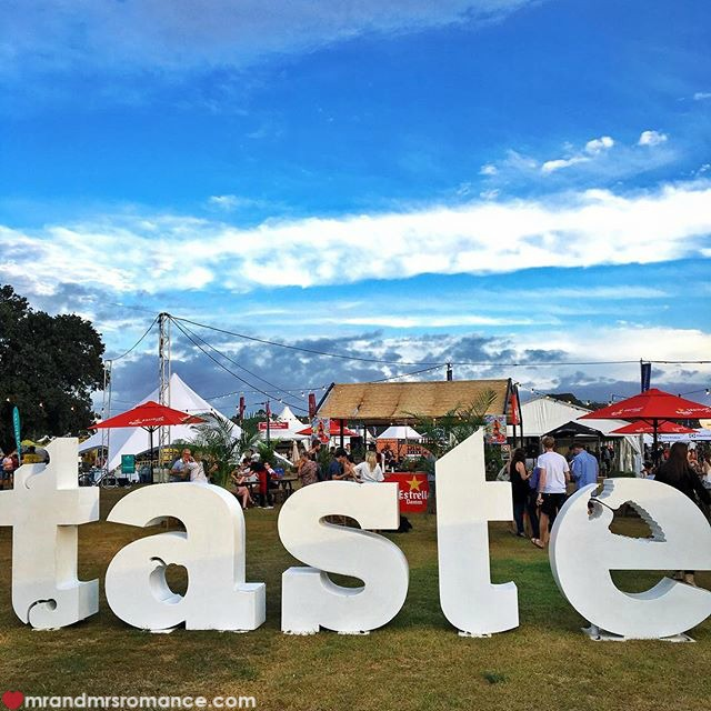 Mr & Mrs Romance - Insta Diary - 4 Taste of Sydney