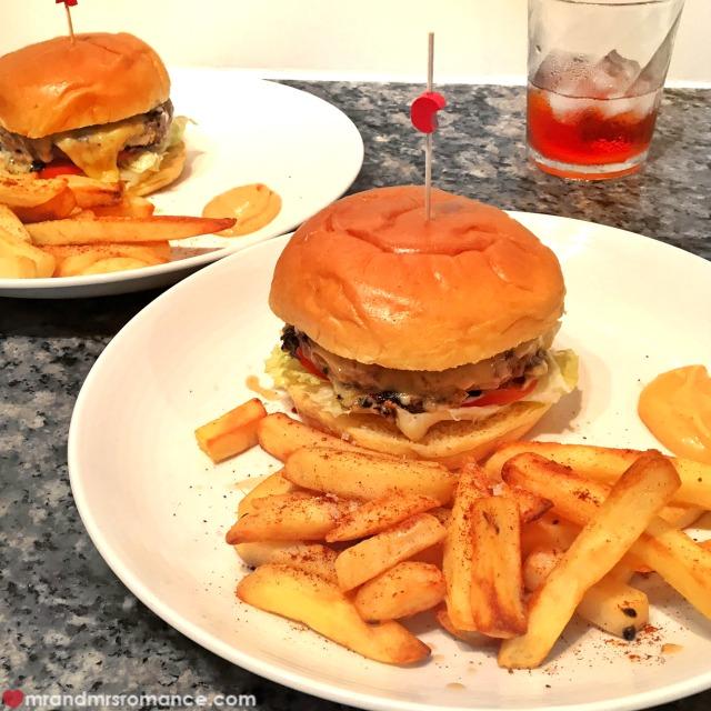 Mr & Mrs Romance - Insta Diary - 9 burgers