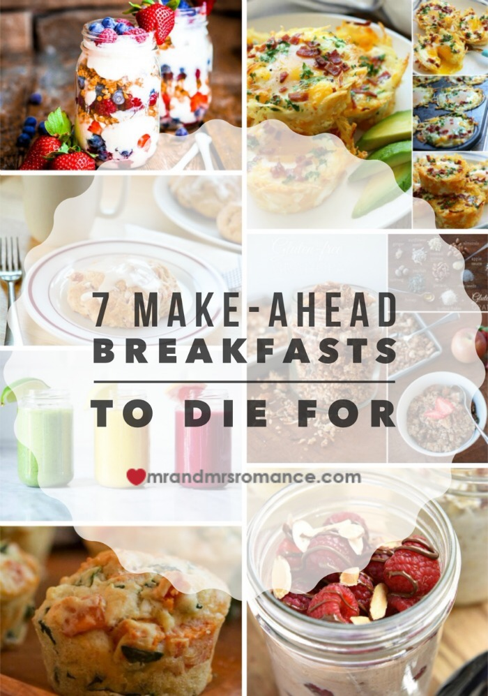 Mr & Mrs Romance - make-ahead brekkies - title