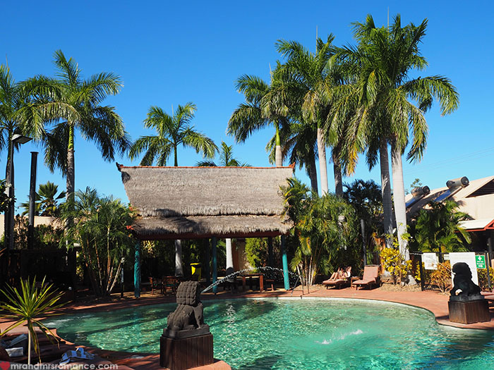 Where to stay in Broome, WA - Bali Hai Resort & Spa - pool
