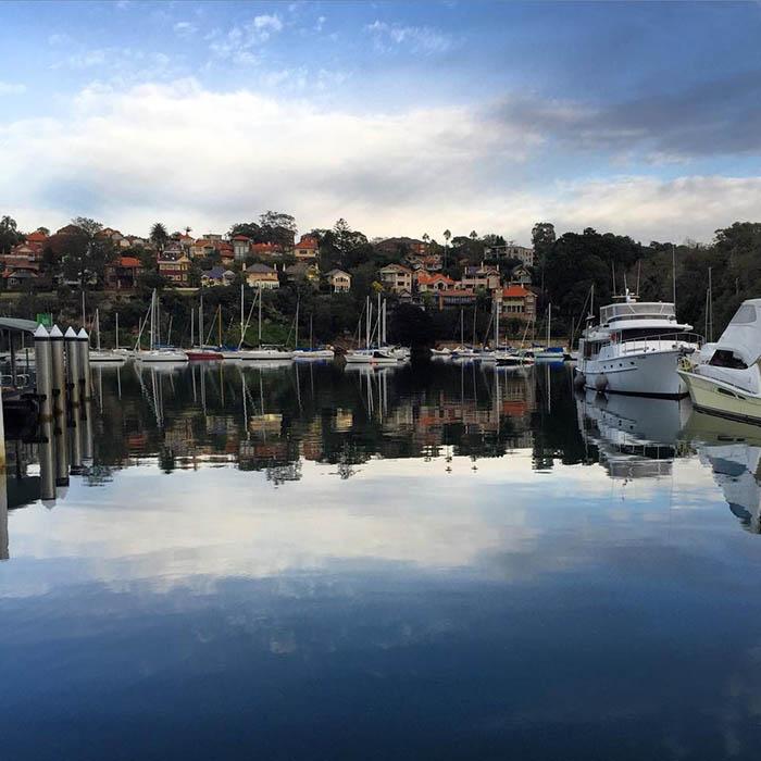 19 Harryfields Cafe view from Mosman Wharf Sydney