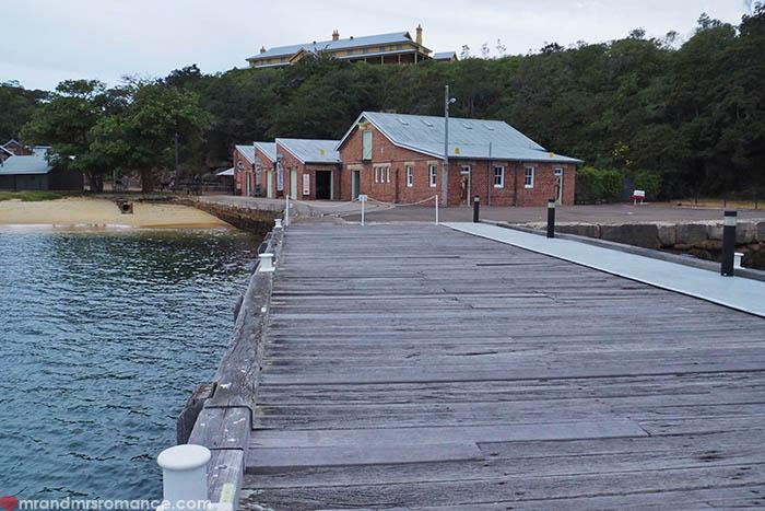 7 Mr & Mrs Romance - Sydney harbourside cafes - Q Station