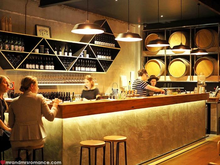 Mr & Mrs Romance - Cake Wines - the bar