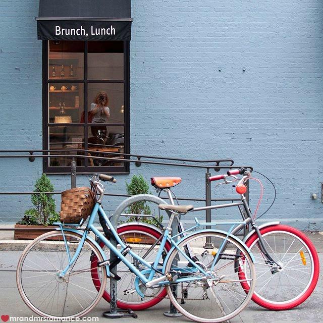 Mr & Mrs Romance - Insta Diary - 11 bikes in Manhattan plus Mrs R