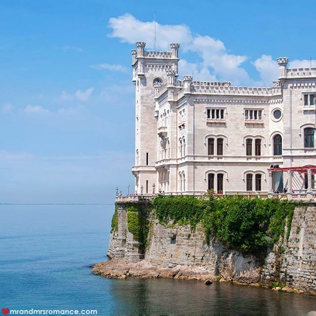 Mr & Mrs Romance - Insta Diary - 12 Miramare Castle Trieste