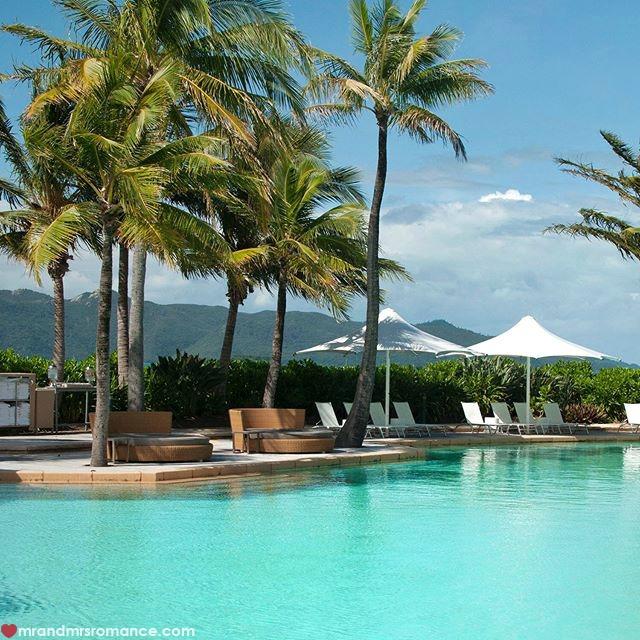 Mr & Mrs Romance - Insta Diary - 14 pool at Hayman Island