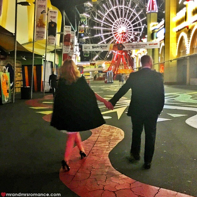 Mr & Mrs Romance - Insta Diary - 5 AHFA at Luna Park