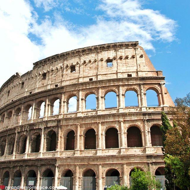 Mr & Mrs Romance - Insta Diary - 53 classic Colosseum