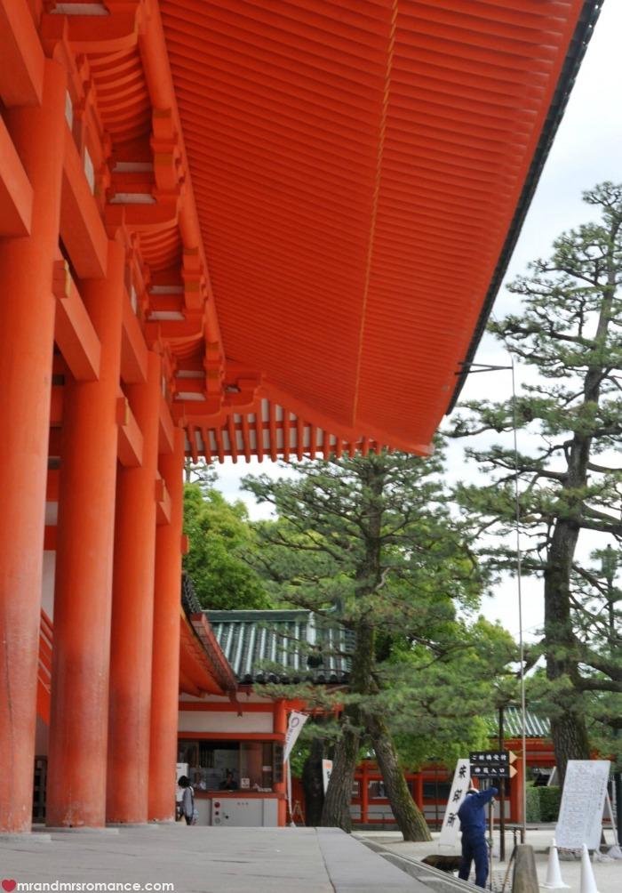 Mr & Mrs Romance - Kyoto temples - 10 Yasaka jinja