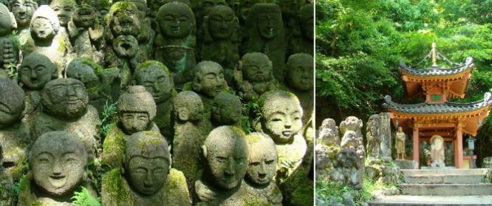 Mr & Mrs Romance - Kyoto temples - 13 Otagi Nenbutsu ji