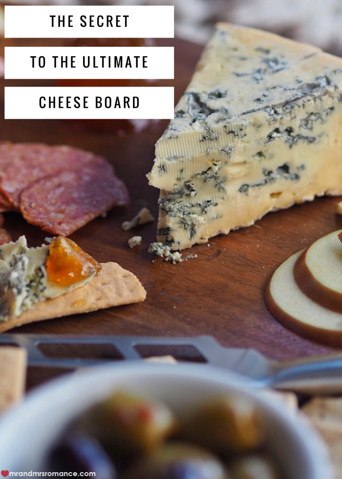 Putting together a cheese board isn't as easy as just throwing a couple of blocks of cheddar on a plate. There's a method to the cheesy madness! And here's the secret: