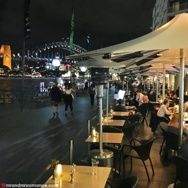 Mr & Mrs Romance - Insta Diary - 1a dinner at Eastbank