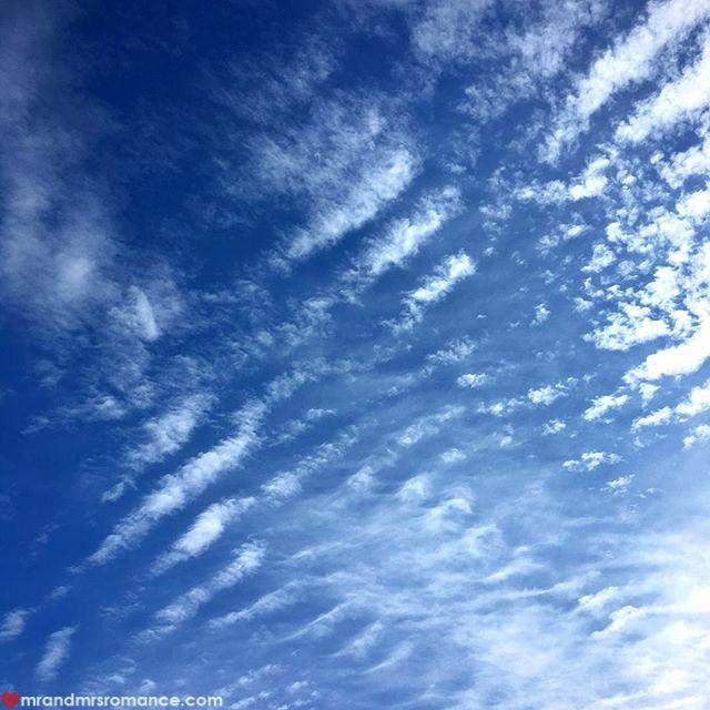 Mr & Mrs Romance - Insta Diary - 2 humpday sky