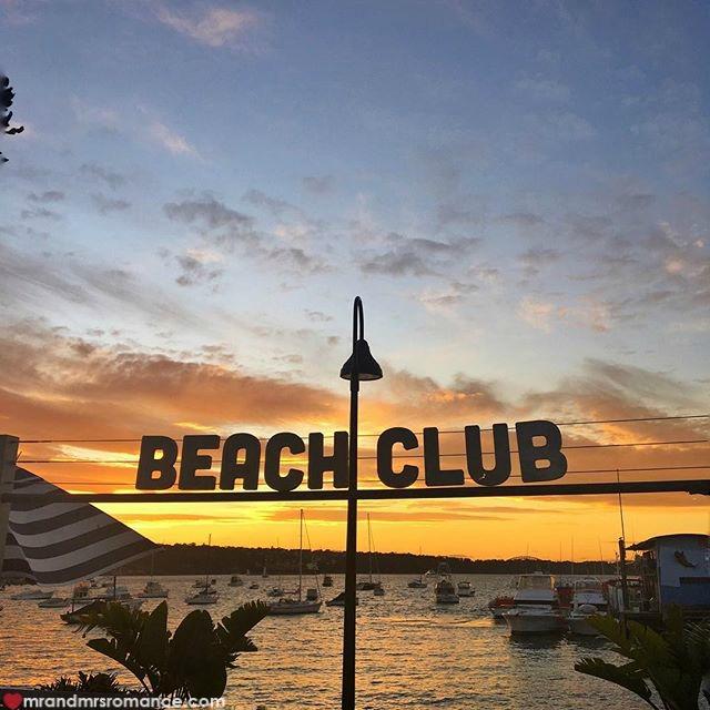Mr & Mrs Romance - Insta Diary - 3 sunset in Watsons Bay