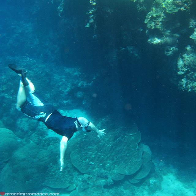 Mr & Mrs Romance - Insta Diary - 54 Blue Hole 2, Vanuatu