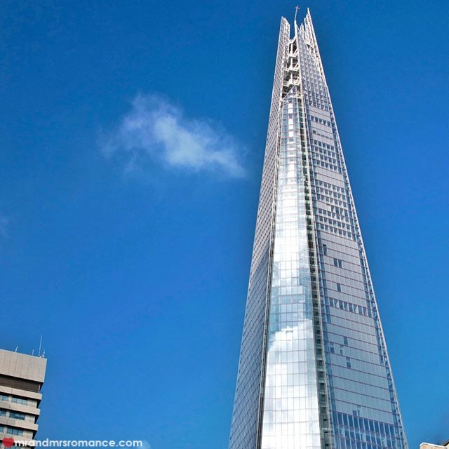 Mr & Mrs Romance - Insta Diary - 54 the Shard, London