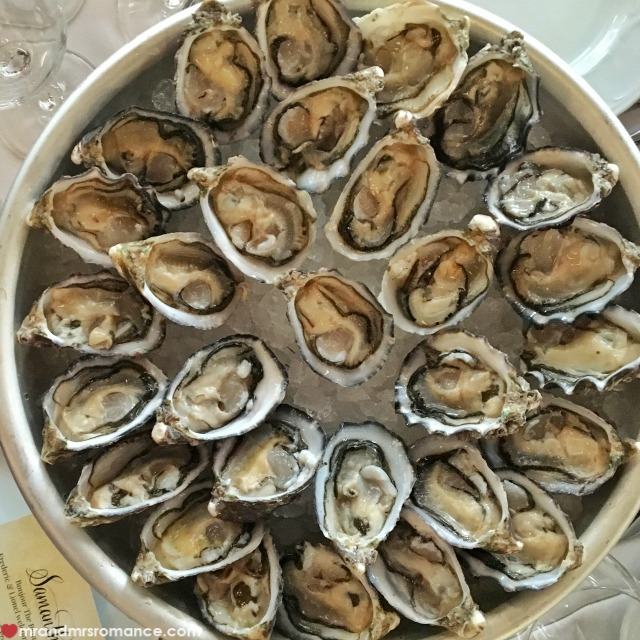 Mr & Mrs Romance - Insta Diary - 5a oysters at Bistrot Gavroche