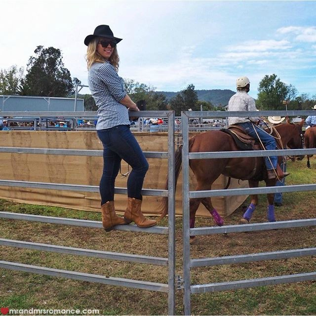 Mr & Mrs Romance - Instagram Diary - 6 Mrs R at the rodeo