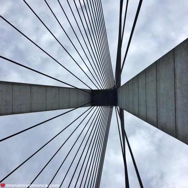 Mr & Mrs Romance - Insta Diary - 8 Anzac Bridge perspective