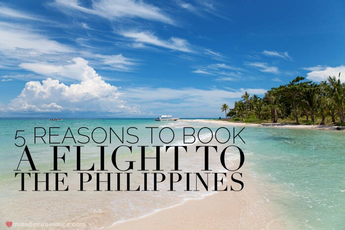 Mr & Mrs Romance's travel guide to the Philippines - 5 places locals love to visit