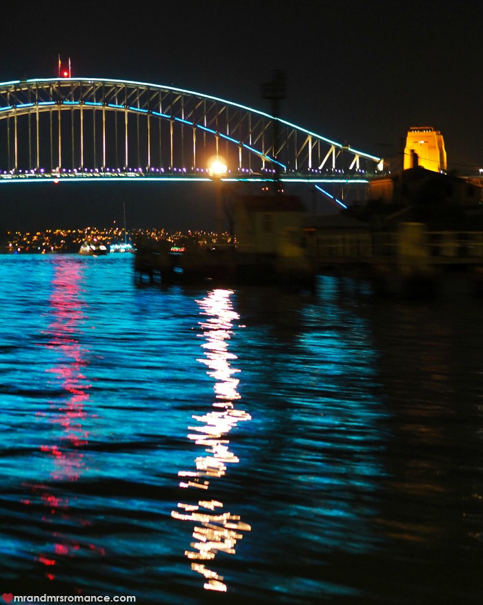 Vivid Sydney 2016 - our picks for this year's festival - the water looks incredible in Sydney Harbour. The blues in this shot say everything and more!