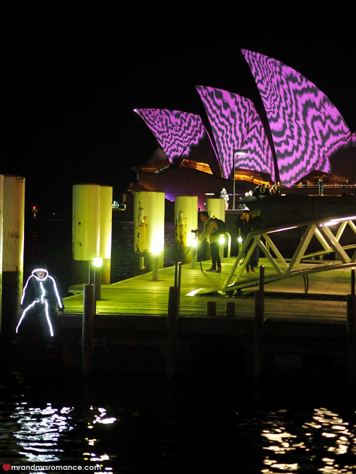 Vivid Sydney 2016 - our picks for this year's festival - our mate was dressed as a stickman last year!