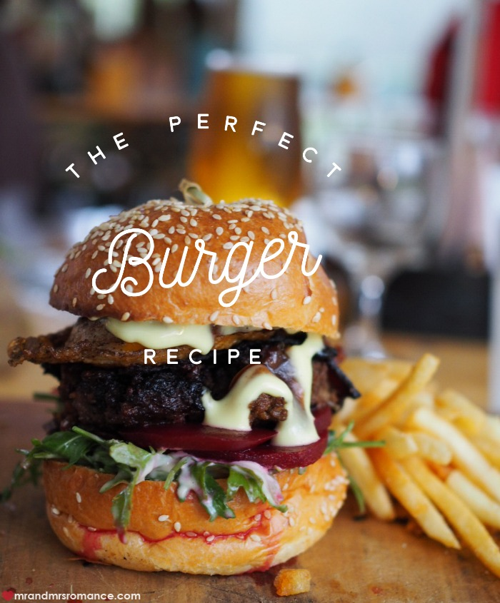 Mr & Mrs Romance - burger recipe - 2a title