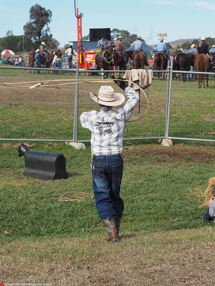 Mr & Mrs Romance – Scone Horse Festival - Billy the Kid