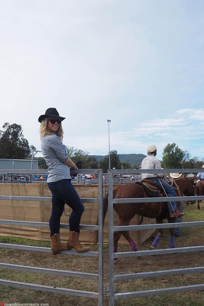Mr & Mrs Romance – Scone Horse Festival - Mrs R = Rodeo