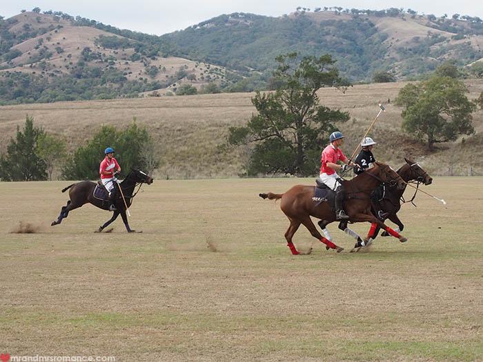 Mr & Mrs Romance – Scone Horse Festival - Polo