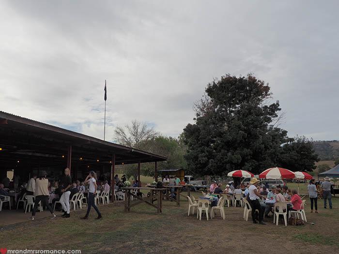 Mr & Mrs Romance – Scone Horse Festival - Polo club