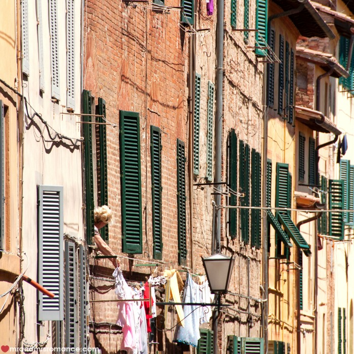 Mr & Mrs Romance - IG Edition - 51 Tuscan street scene