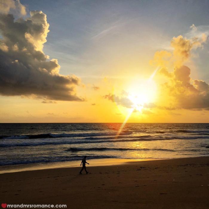 Mr & Mrs Romance - Insta Diary - 4 Aleenta Phuket sunse