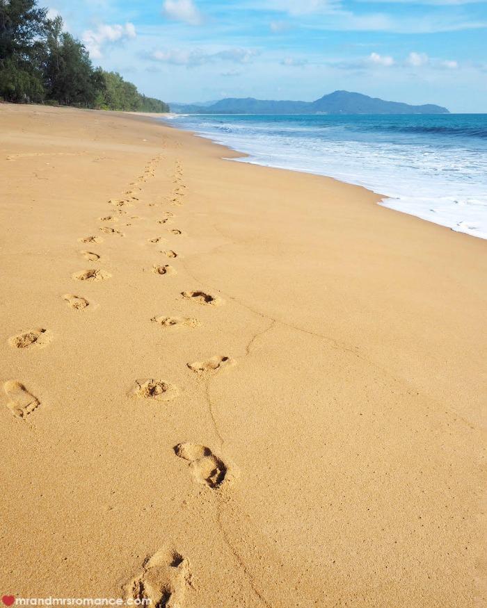 Mr & Mrs Romance - Insta Diary - Aleenta Phuket beach
