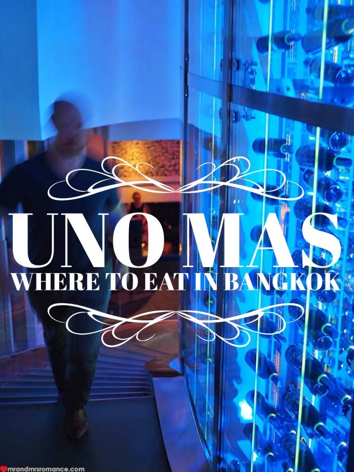 Mr & Mrs Romance - Uno Mas Bangkok - 2 title