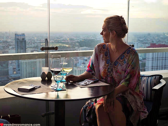 Mr & Mrs Romance - Uno Mas Bangkok - Mrs R with view