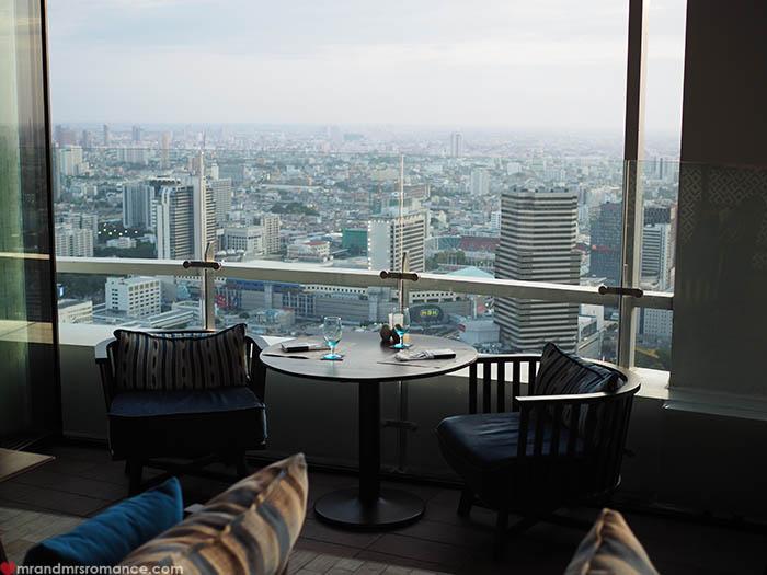 Mr & Mrs Romance - Uno Mas Bangkok -  our table`