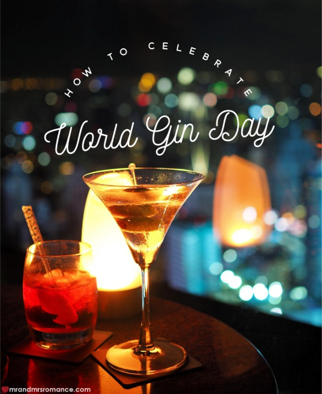Mr & Mrs Romance - World Gin Day - title 1