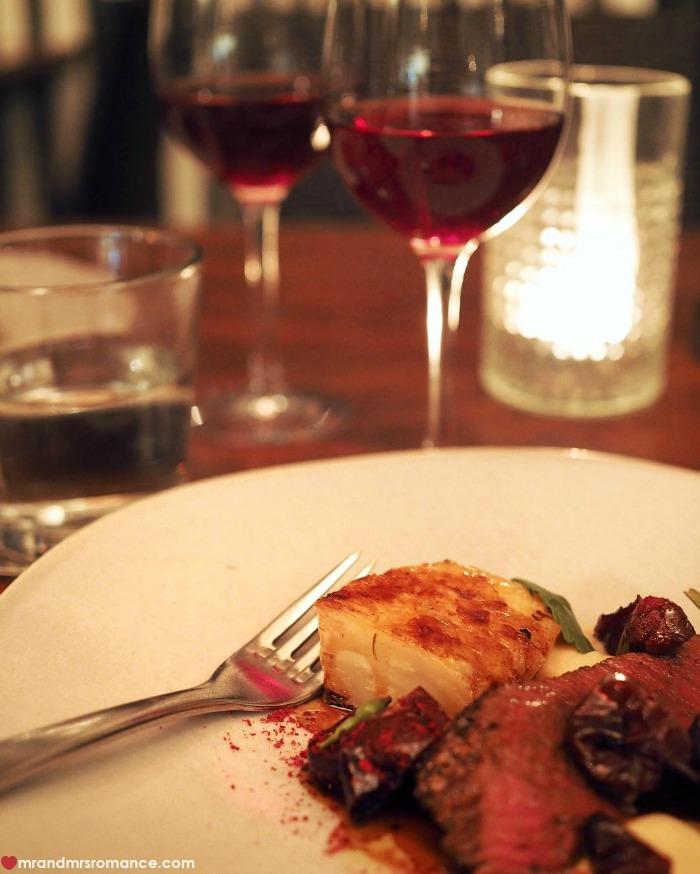 Mr & Mrs Romance - IG Edition - 10 dinner at Harvest