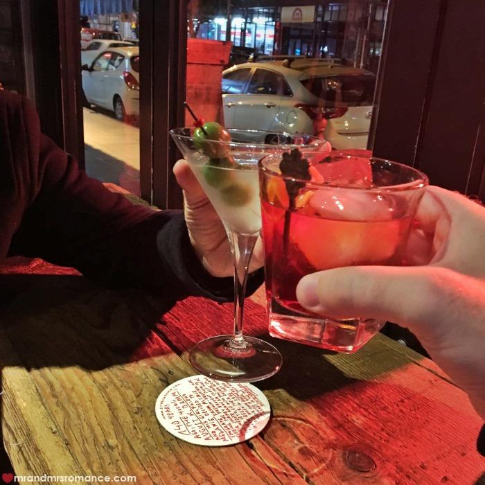 Mr & Mrs Romance - IG Edition - 1a Sunday night drinks