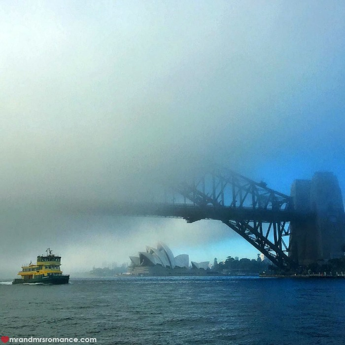 Mr & Mrs Romance - IG Edition - 2 Sydney fog